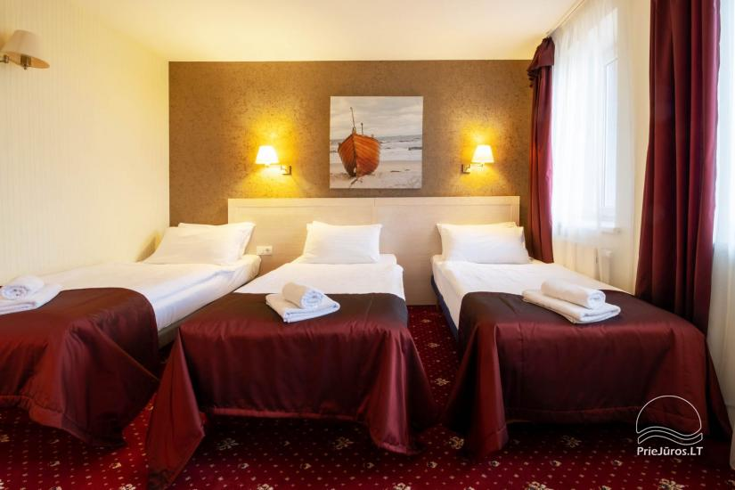 Hotel w Klajpedzie Pajurio vieskelis - 12