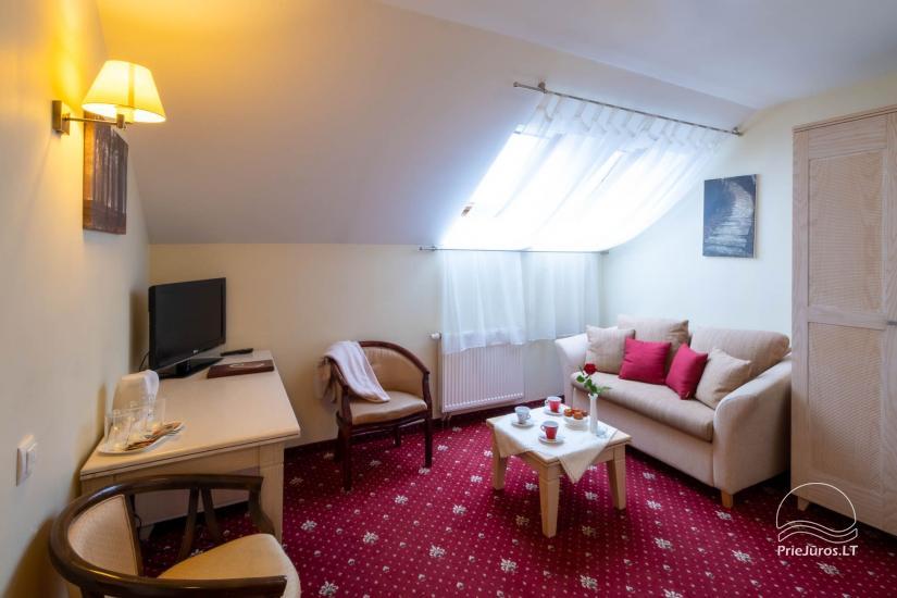 Hotel w Klajpedzie Pajurio vieskelis - 13