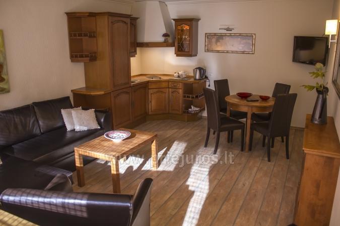 Przestronny (50qw.m) dwa pokoje apartament z tarasem i osobnym wejściem - 6