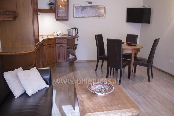 Przestronny (50qw.m) dwa pokoje apartament z tarasem i osobnym wejściem - 5