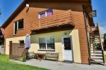 2-osobowe i 4-osobowe apartamenty w Sventoji. Prywatna wejścia, udogodnienia, sad