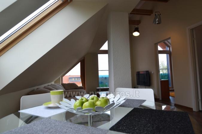 Dobrze wyposażone dwa pokoje apartamenty z widokiem na lagunę w Nidzie - 2