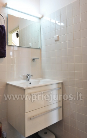 Dobrze wyposażone dwa pokoje apartamenty z widokiem na lagunę w Nidzie - 15
