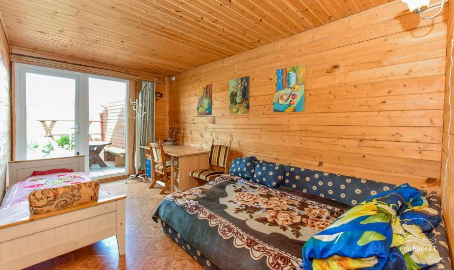 Pokoje i dom letniskowy do wynajęcia w pobliżu Sventoji - 4
