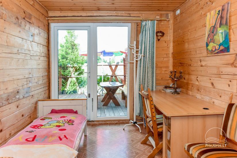 Pokoje i dom letniskowy do wynajęcia w pobliżu Sventoji - 5