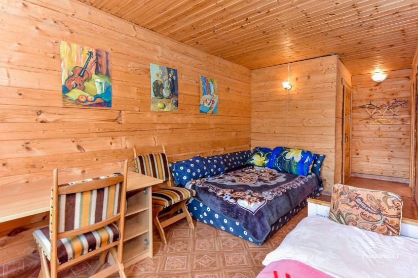 Pokoje i dom letniskowy do wynajęcia w pobliżu Sventoji - 6