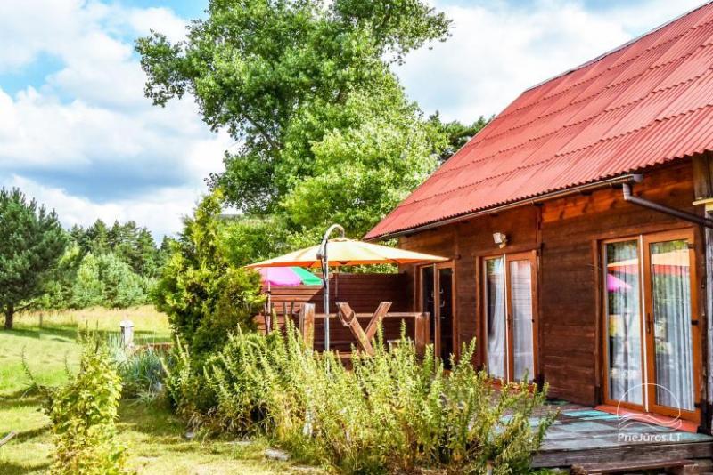 Pokoje i dom letniskowy do wynajęcia w pobliżu Sventoji