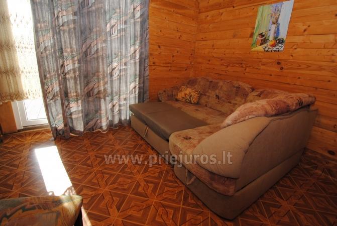 Pokoje i dom letniskowy do wynajęcia w pobliżu Sventoji - 9