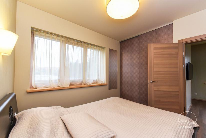 """Apartamenty z tarasami, pokoje dwuosobowe w Połądze – willa """"KIRAS"""" 400 m do morza - 13"""