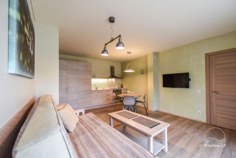 """Apartamenty z tarasami, pokoje dwuosobowe w Połądze – willa """"KIRAS"""" 400 m do morza - 19"""