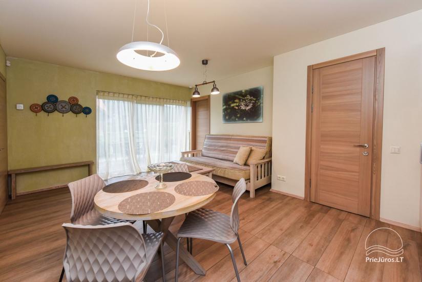 """Apartamenty z tarasami, pokoje dwuosobowe w Połądze – willa """"KIRAS"""" 400 m do morza - 22"""