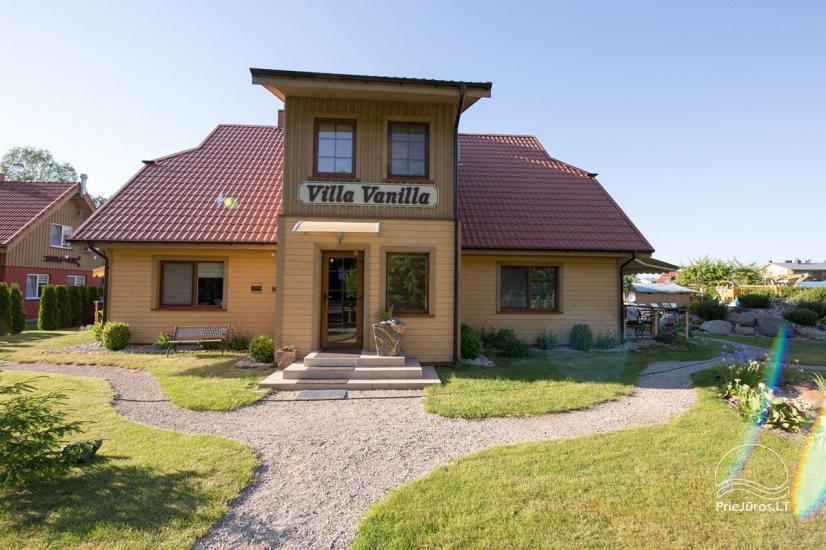 Villa Vanilla - nowocześnie urządzone pokoje ze wszystkimi udogodnieniami do wynajęcia w Karkle. 2 baseny, zaledwie 250 metrów od morza! - 11