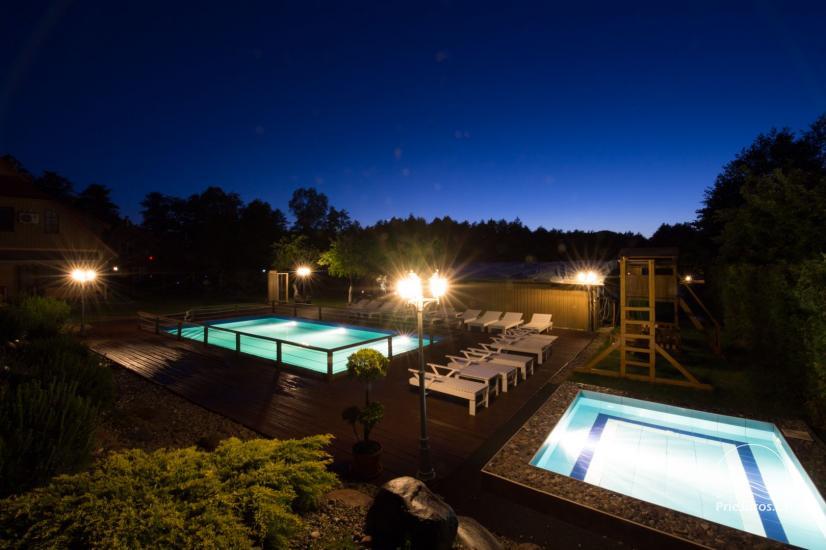 Villa Vanilla - nowocześnie urządzone pokoje ze wszystkimi udogodnieniami do wynajęcia w Karkle. 2 baseny, zaledwie 250 metrów od morza! - 3