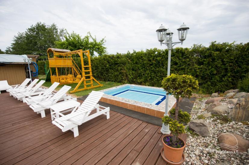 Villa Vanilla - nowocześnie urządzone pokoje ze wszystkimi udogodnieniami do wynajęcia w Karkle. 2 baseny, zaledwie 250 metrów od morza! - 6