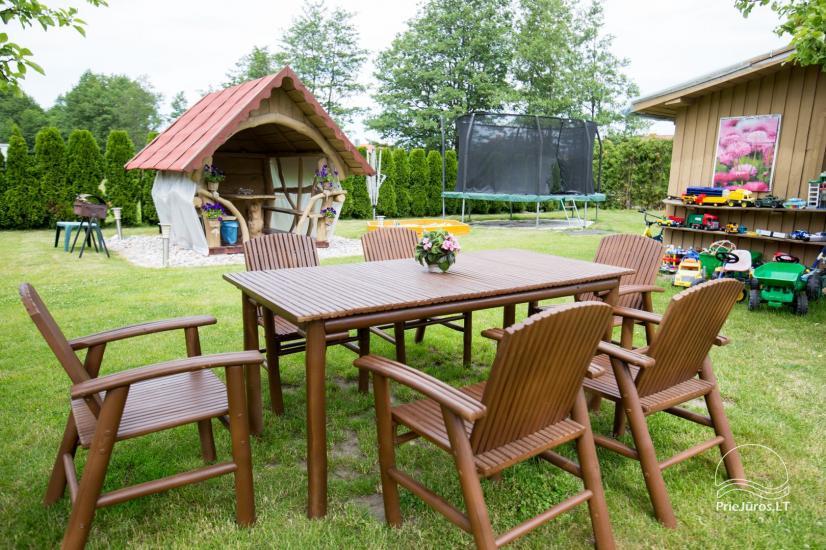 Villa Vanilla - nowocześnie urządzone pokoje ze wszystkimi udogodnieniami do wynajęcia w Karkle. 2 baseny, zaledwie 250 metrów od morza! - 13