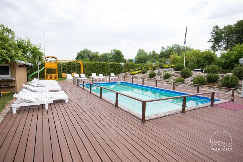 Villa Vanilla - nowocześnie urządzone pokoje ze wszystkimi udogodnieniami do wynajęcia w Karkle. 2 baseny, zaledwie 250 metrów od morza! - 4