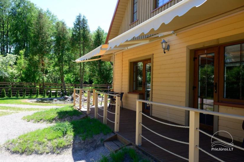 Villa Vanilla - nowocześnie urządzone pokoje ze wszystkimi udogodnieniami do wynajęcia w Karkle. 2 baseny, zaledwie 250 metrów od morza! - 16