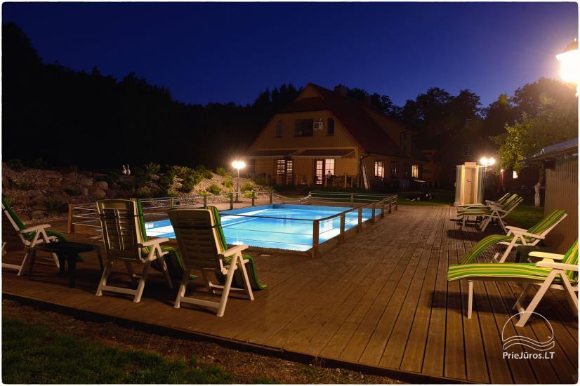 Villa Vanilla - nowocześnie urządzone pokoje ze wszystkimi udogodnieniami do wynajęcia w Karkle. 2 baseny, zaledwie 250 metrów od morza! - 2