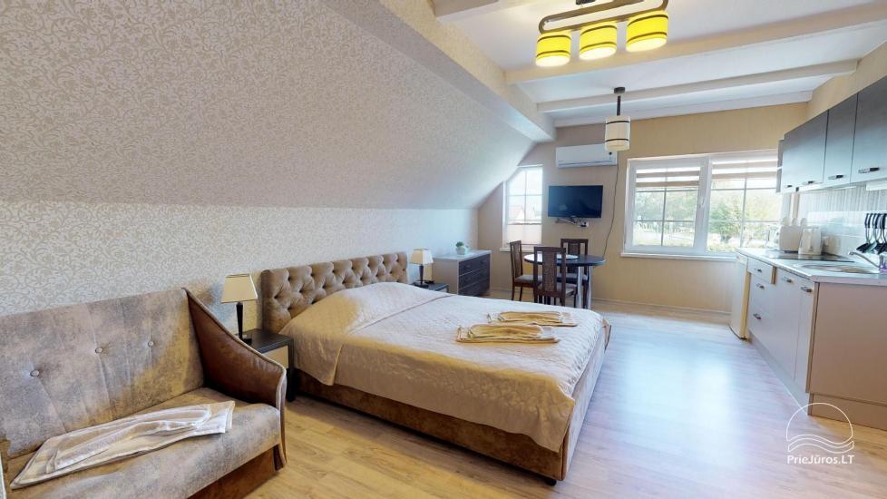 Villa Vanilla - nowocześnie urządzone pokoje ze wszystkimi udogodnieniami do wynajęcia w Karkle. 2 baseny, zaledwie 250 metrów od morza! - 23