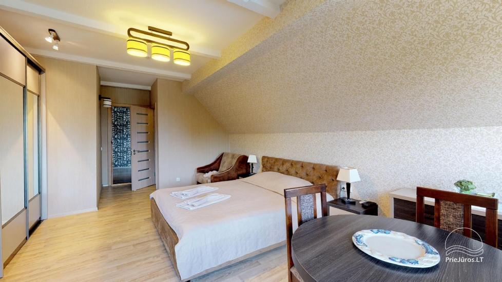 Villa Vanilla - nowocześnie urządzone pokoje ze wszystkimi udogodnieniami do wynajęcia w Karkle. 2 baseny, zaledwie 250 metrów od morza! - 25