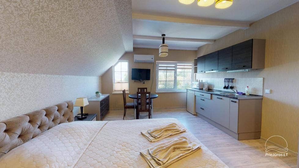 Villa Vanilla - nowocześnie urządzone pokoje ze wszystkimi udogodnieniami do wynajęcia w Karkle. 2 baseny, zaledwie 250 metrów od morza! - 26