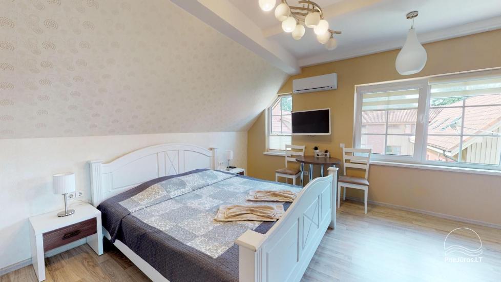 Villa Vanilla - nowocześnie urządzone pokoje ze wszystkimi udogodnieniami do wynajęcia w Karkle. 2 baseny, zaledwie 250 metrów od morza! - 27