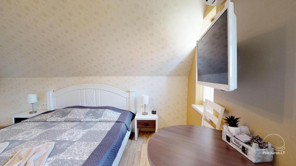 Villa Vanilla - nowocześnie urządzone pokoje ze wszystkimi udogodnieniami do wynajęcia w Karkle. 2 baseny, zaledwie 250 metrów od morza! - 29