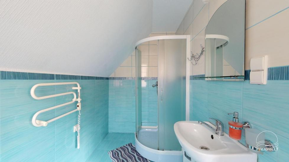 Villa Vanilla - nowocześnie urządzone pokoje ze wszystkimi udogodnieniami do wynajęcia w Karkle. 2 baseny, zaledwie 250 metrów od morza! - 30