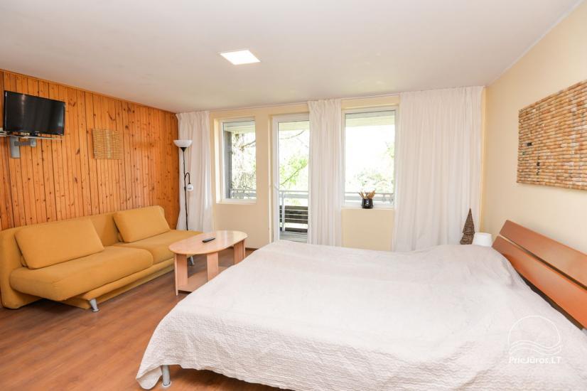 Apartamenty w Neringa: taras / balkon z widokiem na lagunę, Wi-Fi - 9