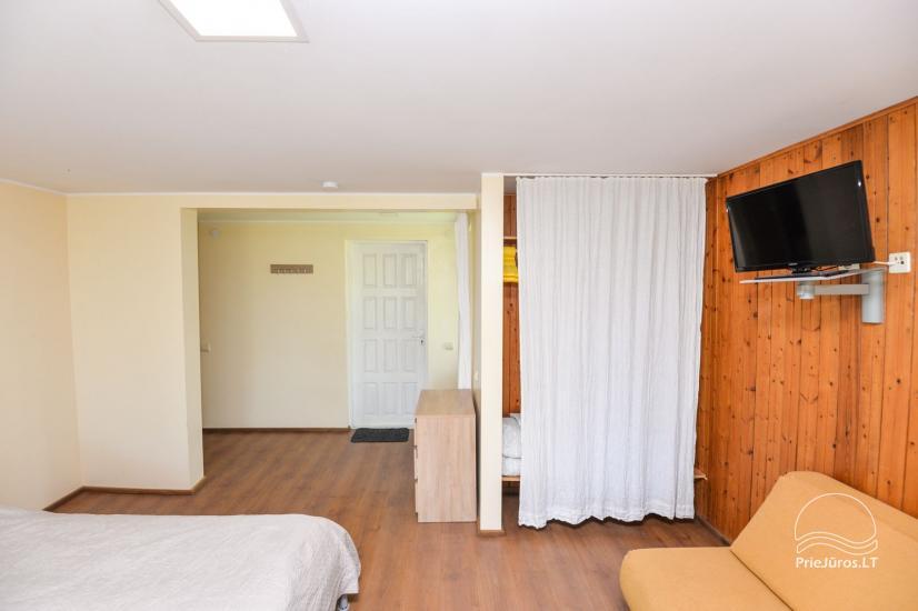 Apartamenty w Neringa: taras / balkon z widokiem na lagunę, Wi-Fi - 10