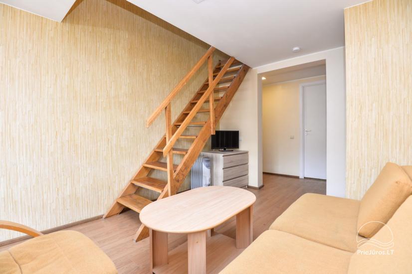 Apartamenty w Neringa: taras / balkon z widokiem na lagunę, Wi-Fi - 11