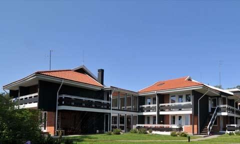 Apartamenty w Neringa: taras / balkon z widokiem na lagunę, Wi-Fi - 1