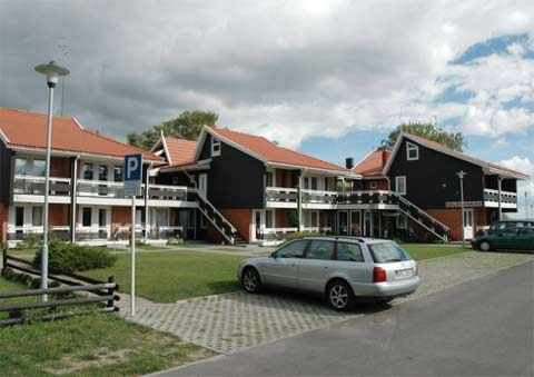Apartamenty w Neringa: taras / balkon z widokiem na lagunę, Wi-Fi - 5