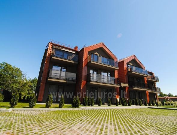 Apartamenty Jolity w Połądze (w Kunigiszkach) 250 metrów od morza