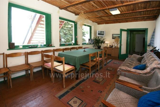Hostel, pokoje, apartamenty do wynajęcia w Preila.Terrace z widokiem na lagunę! - 11