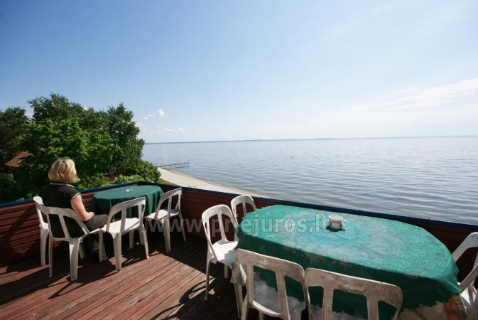 Hostel, pokoje, apartamenty do wynajęcia w Preila.Terrace z widokiem na lagunę! - 1