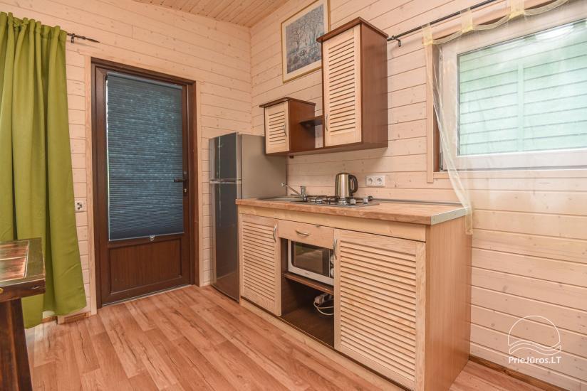 Nowe domki letniskowe Juros nendre w Sventoji - 3