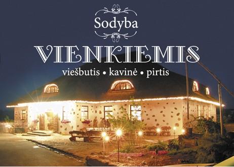 Gospodarstwo wiejskie  Vienkiemis. Hotel - Kawiarnia – Łaźnia - 1