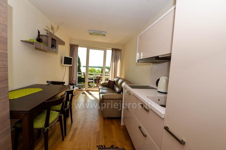 Nowoczesne dwa pokoje apartamentz tarasem, widok na lagunę - 4