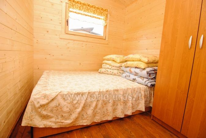 Nowe, przytulne domki i pensjonat w centrum Sventoji - 7