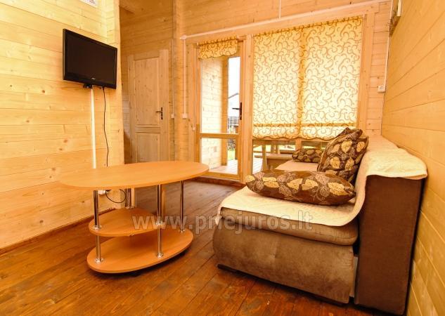 Nowe, przytulne domki i pensjonat w centrum Sventoji - 8