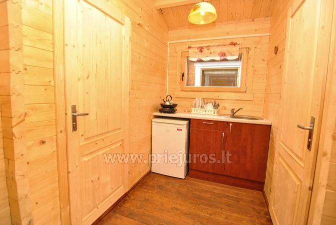 Nowe, przytulne domki i pensjonat w centrum Sventoji - 10