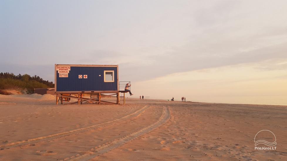 Dom wakacyjny w Połądze Pušų kiemas - 200 m do plaży! - 5