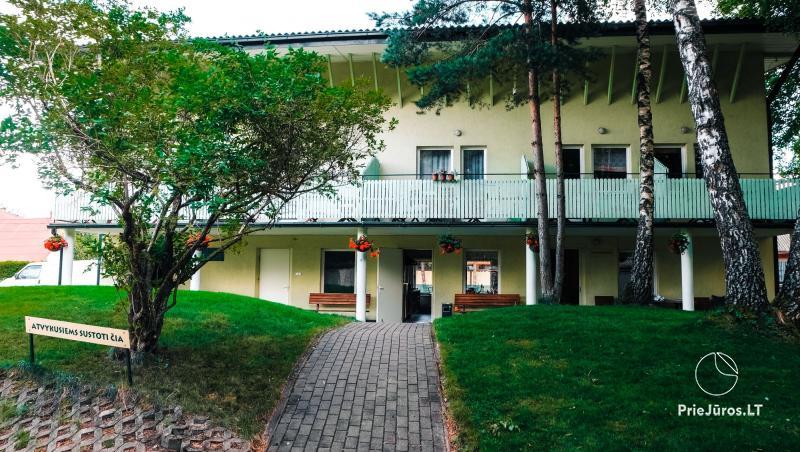 Wakacje w w Šventoji Žibintas - apartamenty i domki letniskowe