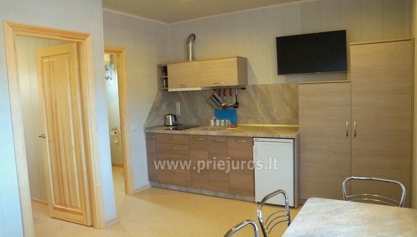 Aringa rezydencji. Apartamenty i domy wakacyjne do wynajęcia w Sventoji - 7