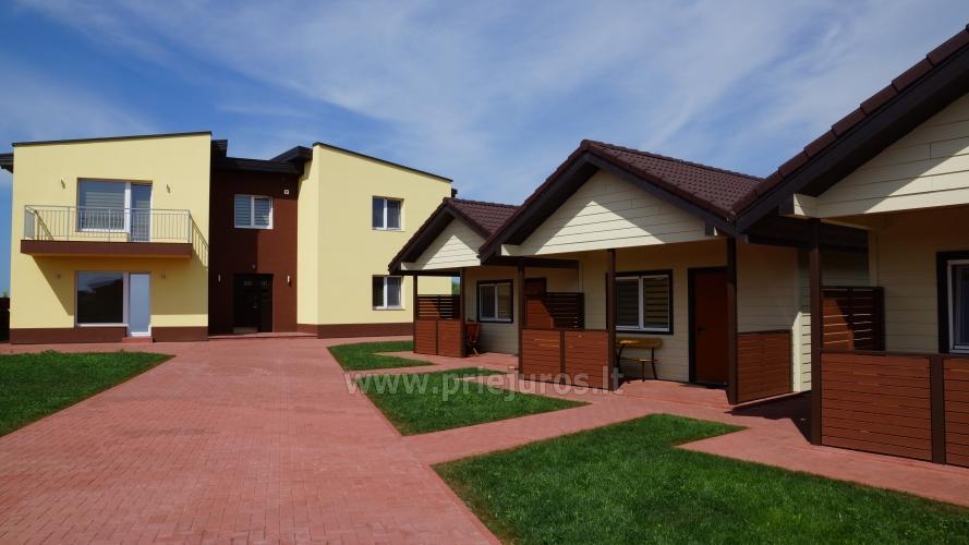 Aringa rezydencji. Apartamenty i domy wakacyjne do wynajęcia w Sventoji - 2