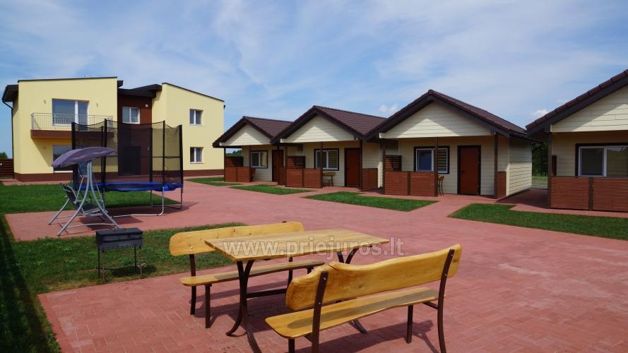 Aringa rezydencji. Apartamenty i domy wakacyjne do wynajęcia w Sventoji - 1