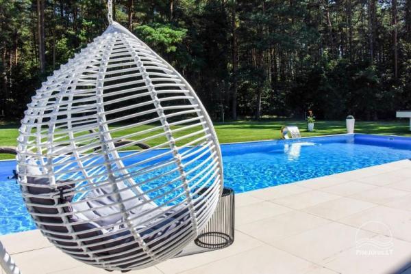 Luksusowy dom do wynajęcia Pusyno Oaze: Jacuzzi, basen, taras