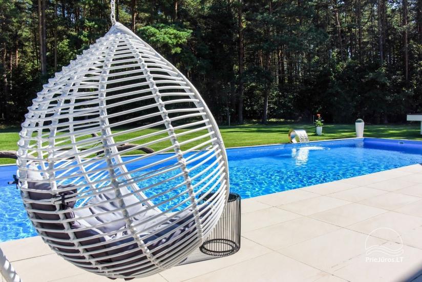 Luksusowy dom do wynajęcia Pusyno Oaze: Jacuzzi, basen, taras - 6