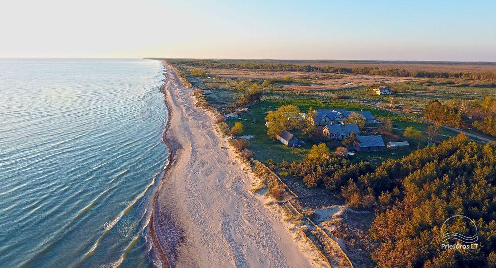 Domki w pobliżu Sventoji 50 metrów od plaży nad Bałtykiem! - 1